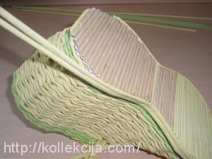 Плетение из газет - Ботинок