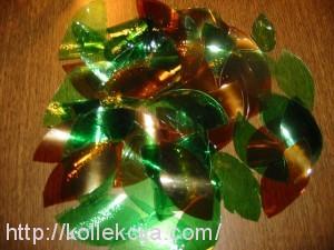 Ветки из пластиковых бутылок