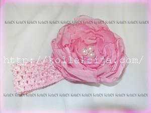 Пышные цветы из ткани