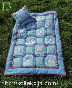 Детское одеяло - печворк