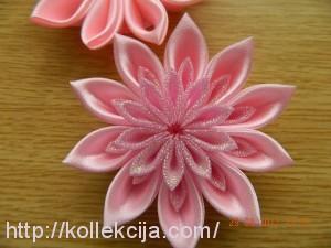 Канзаши ободок для волос