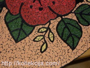 Техника мозаики из яичной скорлупы