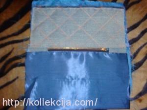 Сумка женская из джинсовой ткани