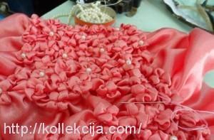 Подушка буфы-цветы
