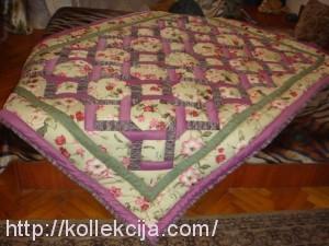 Одеяло в технике печворк