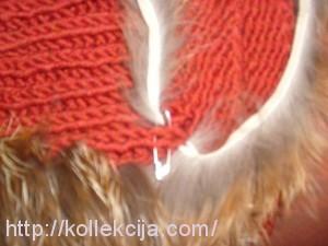 Шапочка из обрезков меха своими руками