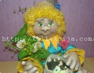 Глаза для куклы из гипса