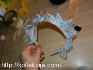 Как декорировать ободок для волос