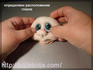 Как вставить глаза кукле