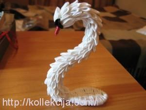 Канзаши лебедь