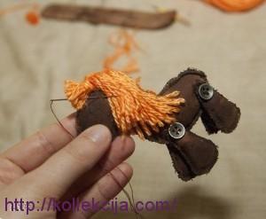 Елочная игрушка Лошадка