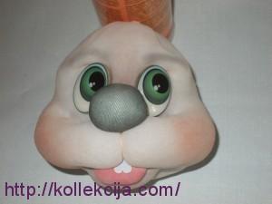 Заяц из колготок