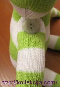 Лягушка из носков