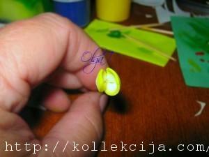 Орхидея из фоамирана