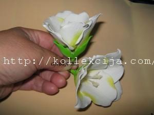 цветы фрезия из фоамирана