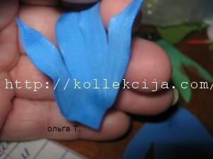 Василек из фома своими руками