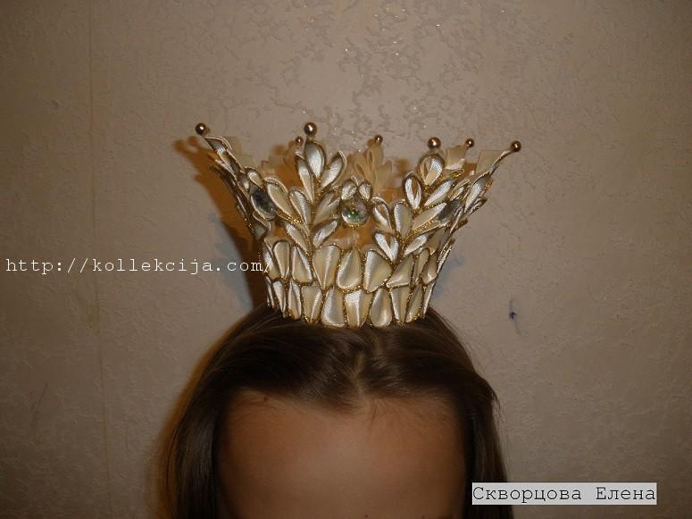 Корона из лент