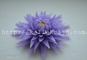 Хризантема из холодного фарфора
