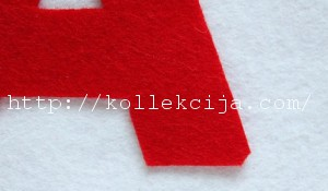 Буквы из фетра своими руками