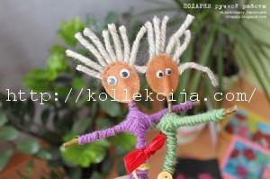 куклы из веток