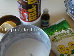 Как сделать холодный фарфор