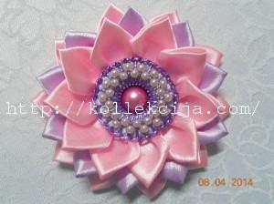 Серединка из бисера для цветка