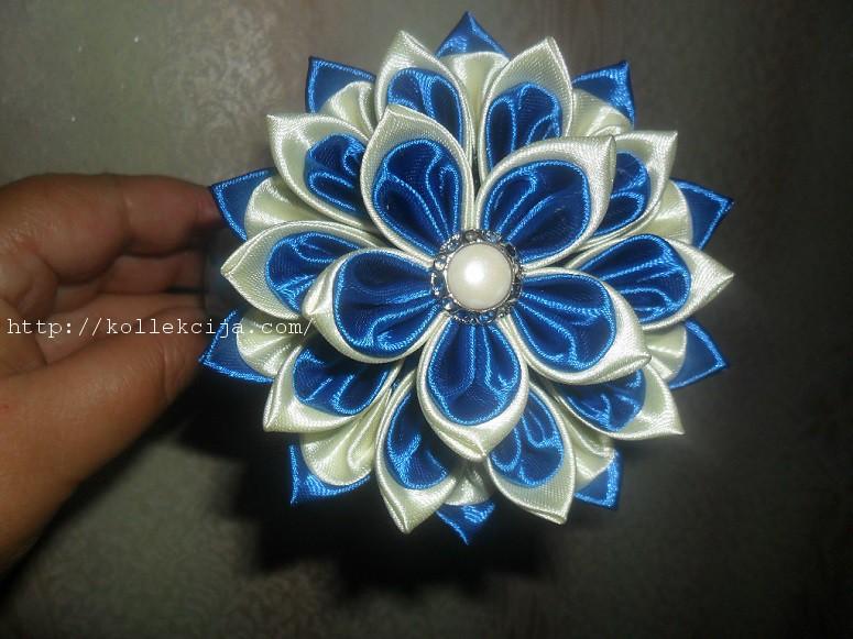 Цветы из ткани своими руками мастер 58