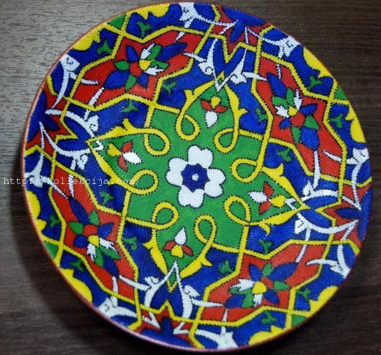 Расписываем тарелку