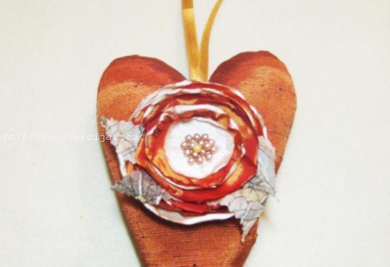 Сердце из шелка