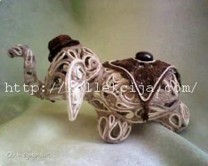 Слон из ниток