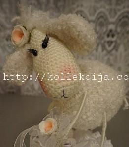 Как связать овечку крючком