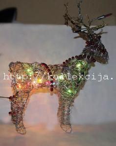 Новогодний светящийся олень
