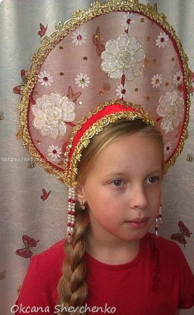 Кокошники русские своими руками фото 932