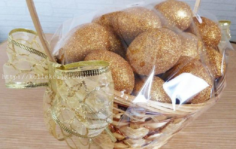 Золотые яйца своими руками