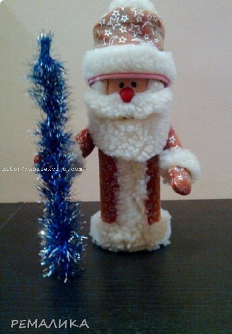 Дед Мороз из банки чипсов