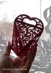 Упаковка сердечко