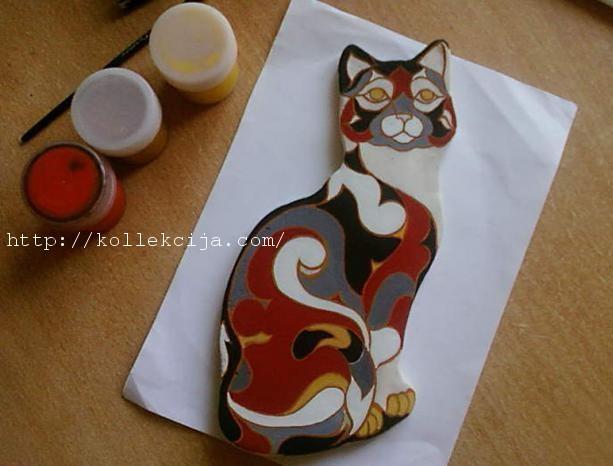 Кошки своими руками из теста 109