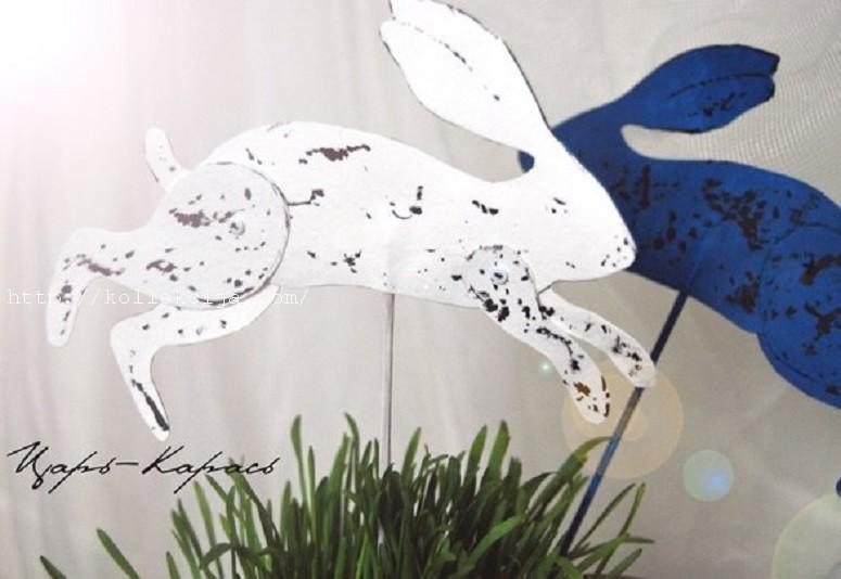 Пасхальный кролик из бумаги