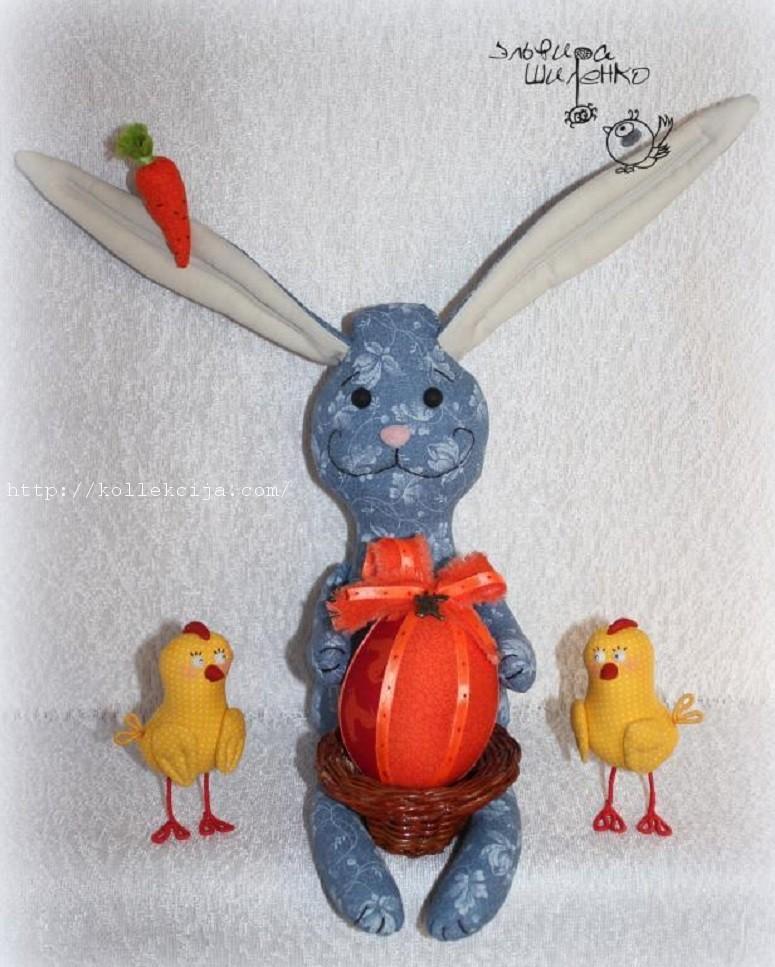 Пасхальный заяц своими руками